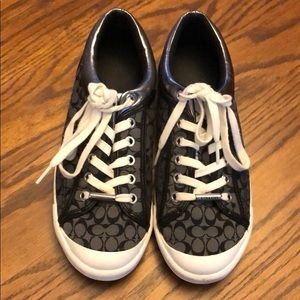 Coach sneakers, size 8